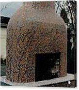 Mosaic Fireplace Acrylic Print