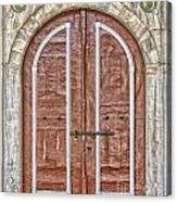 Mosque Doors 09 Acrylic Print