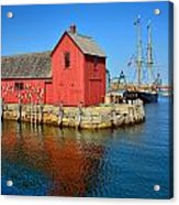 Motif Number One Rockport Lobster Shack Maritime Acrylic Print
