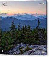Mount Chocorua Scenic Area - Albany New Hampshire Usa Acrylic Print