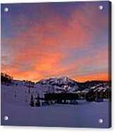 Mount Crested Butte Acrylic Print