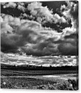 Mount Vernon Farmland - Washington State Acrylic Print