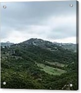 Mountain Landscape Of Italy Acrylic Print
