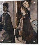 Mrs Jeantaud In The Mirror Acrylic Print