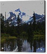 Mt Baker Washington  Acrylic Print