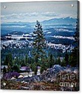 Mt Spokane Acrylic Print