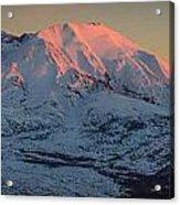 Mt. St. Helens Sunset Acrylic Print