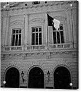 Municipalidad De Santiago City Hall Building Chile Acrylic Print