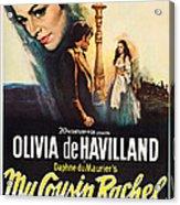 My Cousin Rachel, Olivia De Havilland Acrylic Print