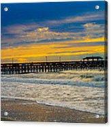 Myrtle Beach Morning Acrylic Print