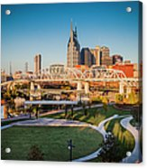 Nashville Morning Acrylic Print