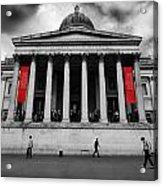 National Gallery London Acrylic Print by Ed Pettitt