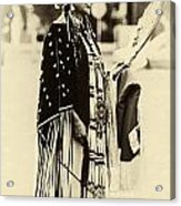 Native American Pow Wow In Montana Acrylic Print