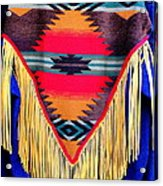 Native American Shawl  Acrylic Print