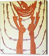 Nativity Of Jesus Acrylic Print by Gloria Ssali