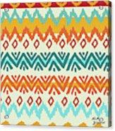 Navajo Mission Round Acrylic Print