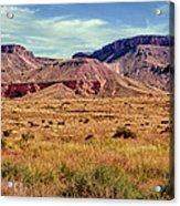 Navajo Nation Series Along 87 And 15 Acrylic Print