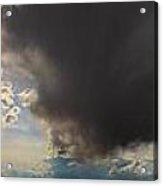 Nebraska Storms A Brewin Acrylic Print