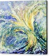 Neptune's Gold  Acrylic Print