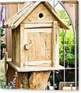 Nesting Box Acrylic Print