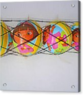 Net Balls Acrylic Print