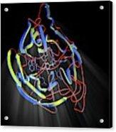 Neuraminidase Acrylic Print