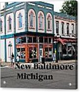 New Baltimore Michigan Acrylic Print