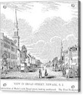 New Jersey Newark, 1844 Acrylic Print
