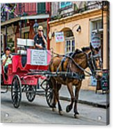 New Orleans - Carriage Ride Acrylic Print