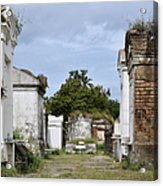 New Orleans Lafayette Cemetery Acrylic Print