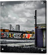 New Orleans Skyline From The Creative Part Of Town Acrylic Print