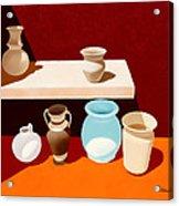 New Pottery Acrylic Print