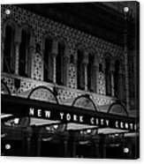 New York City Center Acrylic Print