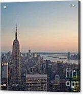 New York City - Empire State Building Acrylic Print