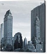 New York City From Central Park Acrylic Print