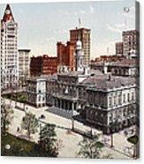 New York City Hall 1900 Acrylic Print