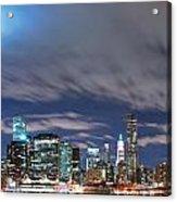 New York City Manhattan Panorama  Acrylic Print