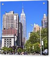 1-new York City Acrylic Print