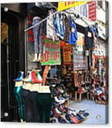 New York City Storefront 8 Acrylic Print