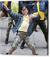 New York Dance Parade 2013 Young Female Dancer Acrylic Print