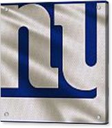 New York Giants Uniform Acrylic Print