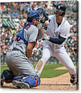 New York Mets V Detroit Tigers 1 Acrylic Print
