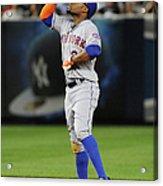 New York Mets V New York Yankees Acrylic Print