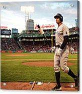 New York Yankees V Boston Red Sox 1 Acrylic Print