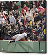 New York Yankees v Boston Red Sox Acrylic Print