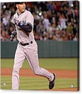 New York Yankees V Los Angeles Angels 1 Acrylic Print
