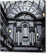 Newcastle Central Arcade Acrylic Print