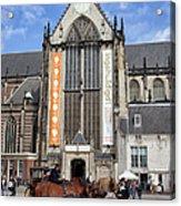 Nieuwe Kerk In Amsterdam Acrylic Print