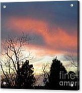 Night Falling Acrylic Print