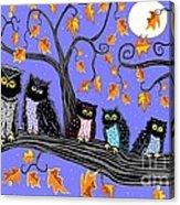Night Owls Acrylic Print